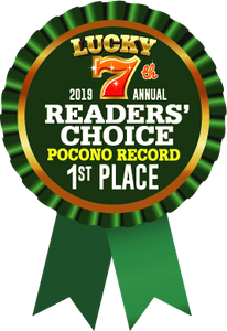Pocono Record Readers' Choice First Place  Tattoo Parlor 2019