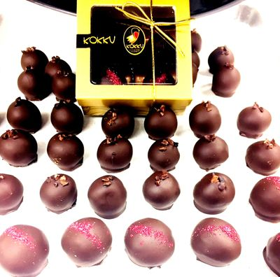 Hand Made Truffles Paired to your specific request