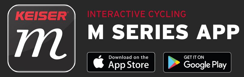 KEISER M SERIES INTERACTIVE APP INDOOR CYCLING