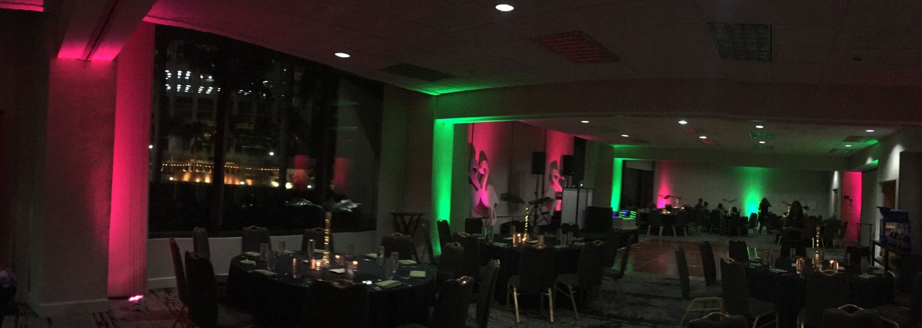 Wedding Uplighting will transform the atmosphere of any place or venue