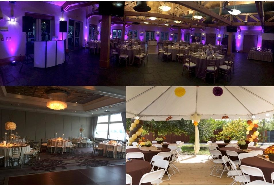 miami party rental chair rentals tables tent rentals linen rental