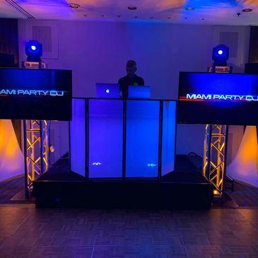 High End DJ setup for Quinces events and corporate events