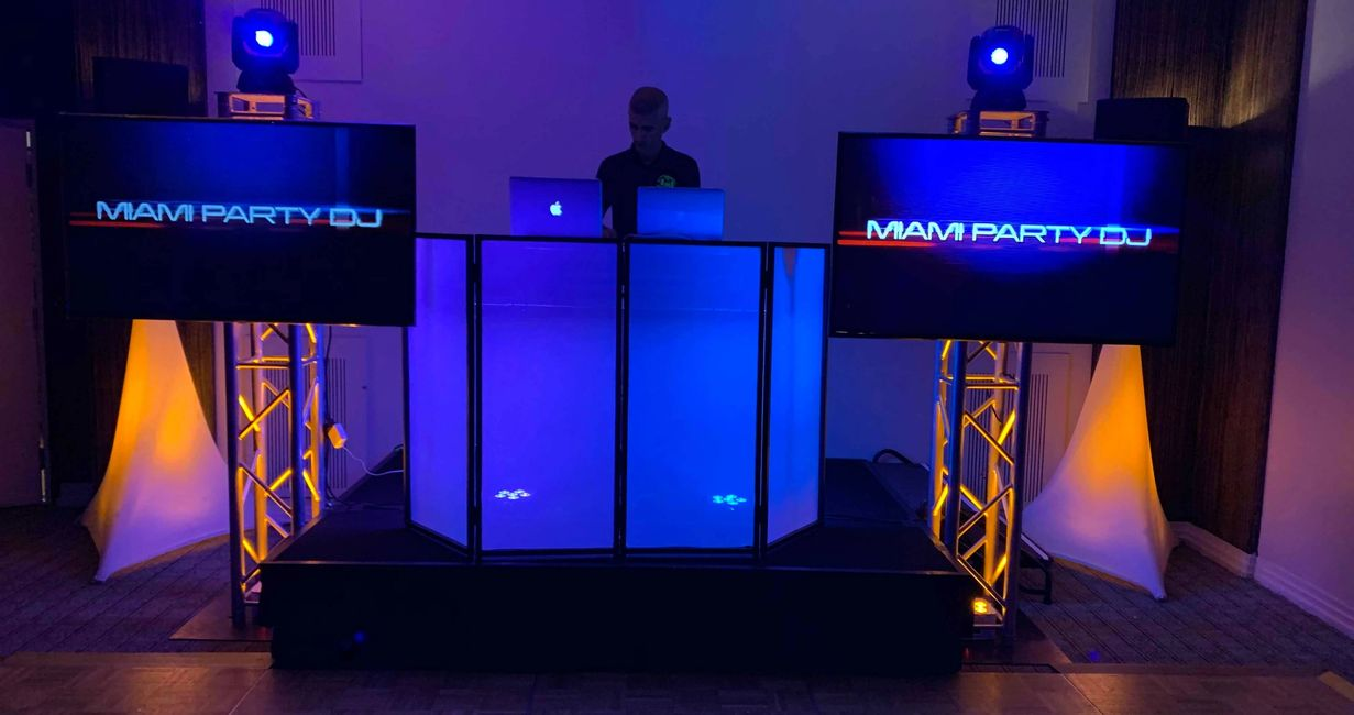 High End DJ Setup Package for Weddings ,Quinces,Sweet16 Parties Miami