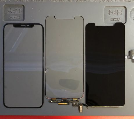 How an Apple iPhone X screen is built