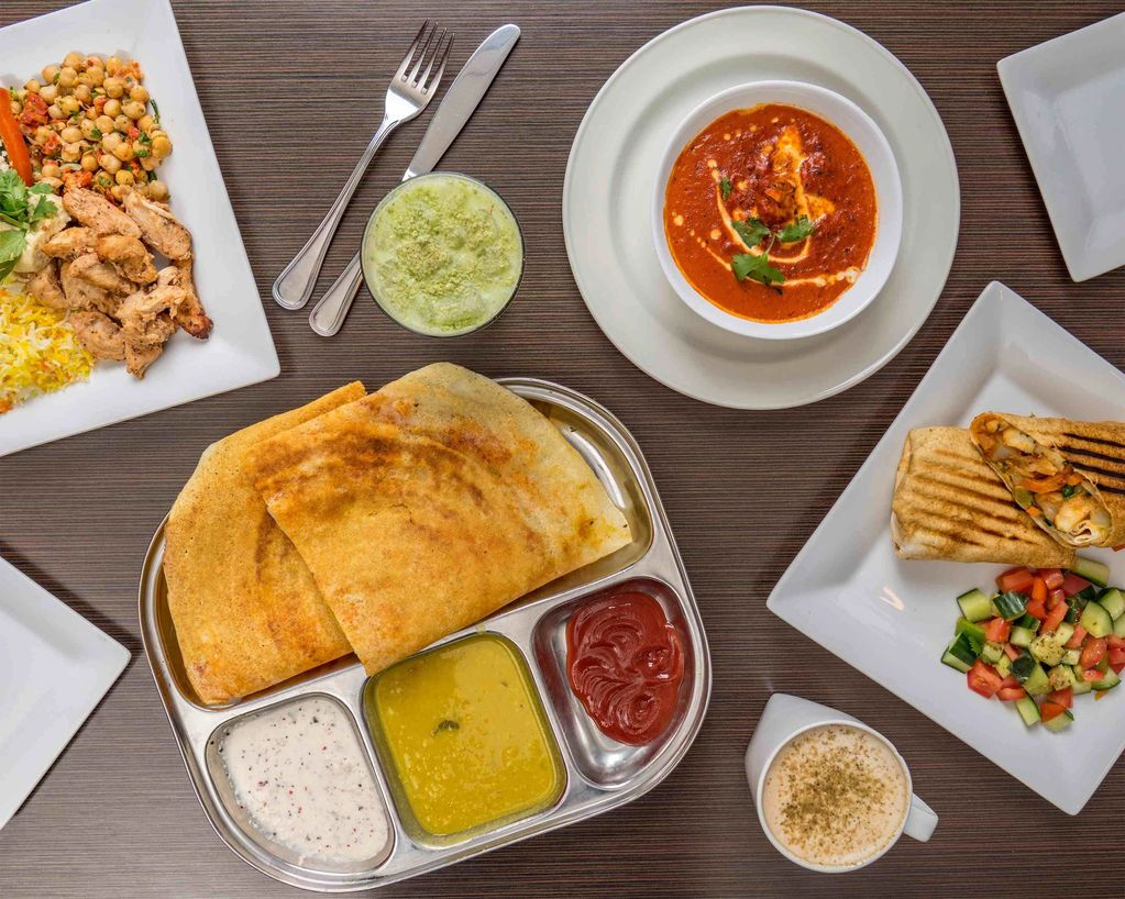 ,The cafe will offer more healthy Indian food and drink options and will serve vegetarian, vegan,
