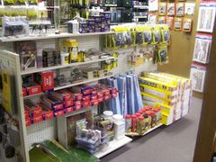 We carry a wide a Pictured is just one of our many displays of the scenery products we stock.