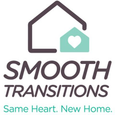 House logo with heart logo representing Smooth Transitions of NY