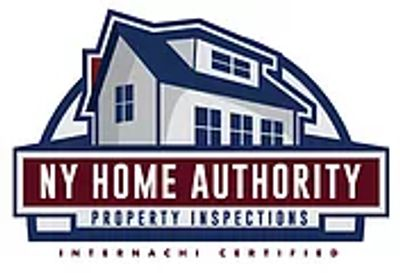House logo with NY Home Authority Property Inspections written across the bottom of the logo.