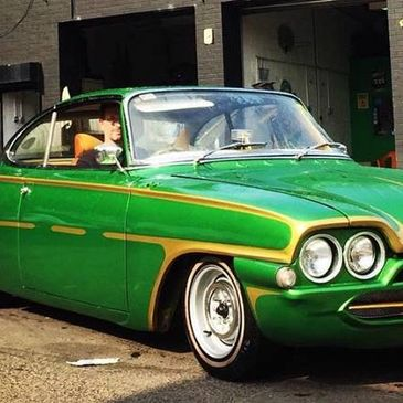 Extreme Green Car, take pride in your ride, Green Car, Classic Car, Classic Cars, Nano Coting, Nano