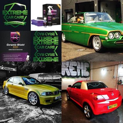 Extreme Car Care, Car wash, Valeting, MIni Valet, Full Valet, Detailing, Corrections, Ceramics MCR