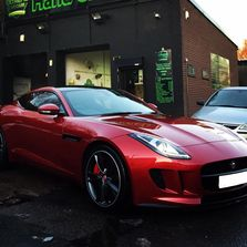 Red Jaguar frsh and clean after a Valet at Extreme Car Care in Radcliffe, Bury, M263SB, Car Wash