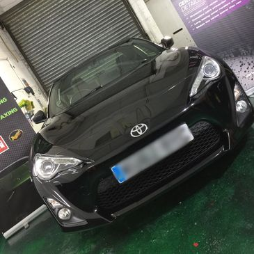 Toyota GT86 Coated in Ceramics by Extreme Car Care certified Detailers, best Car wash in Manchester