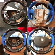 steering wheel repair, recolour steering wheel,