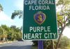 Cape Coral is a Purple Heart City
