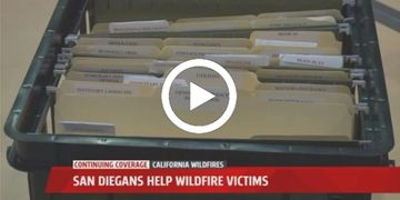 Sonoma County Fire Relief Filing System for Fire Victims San Diego Santa Rosa Napa Help Organization