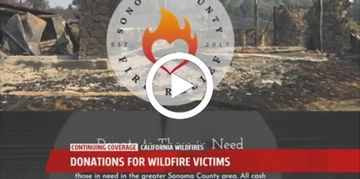 Emergency Supplies Fire Victims Sonoma Napa County Tubbs Fly San Diego Relief Help Support Wildfire