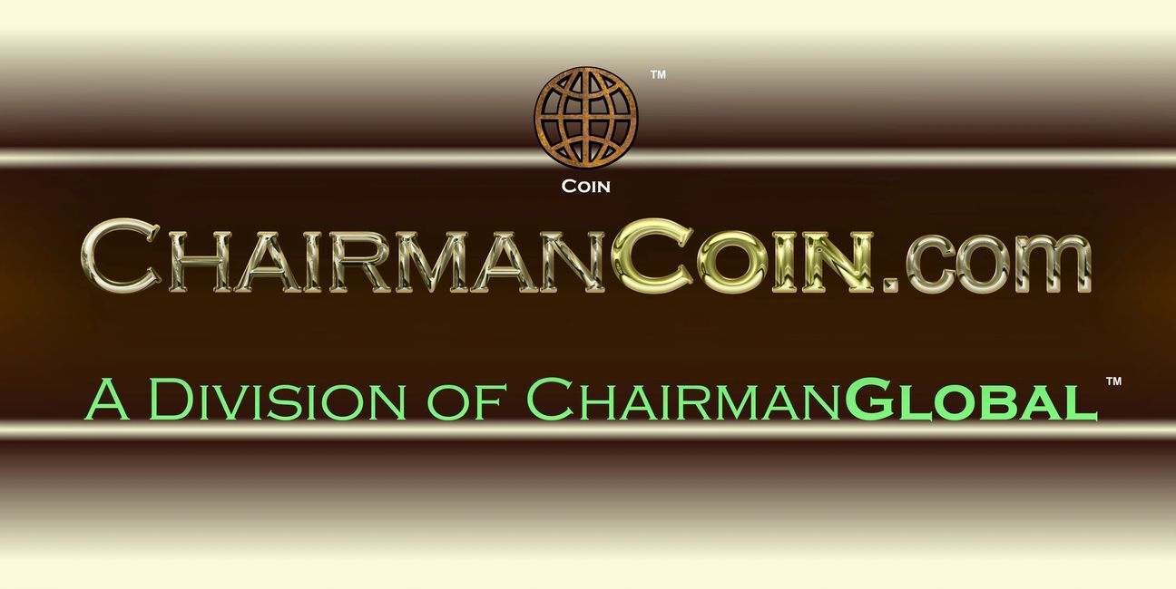 This is the artwork design for ChairmanCoin.com. Chairman Coin is a division of ChairmanGlobal.com.