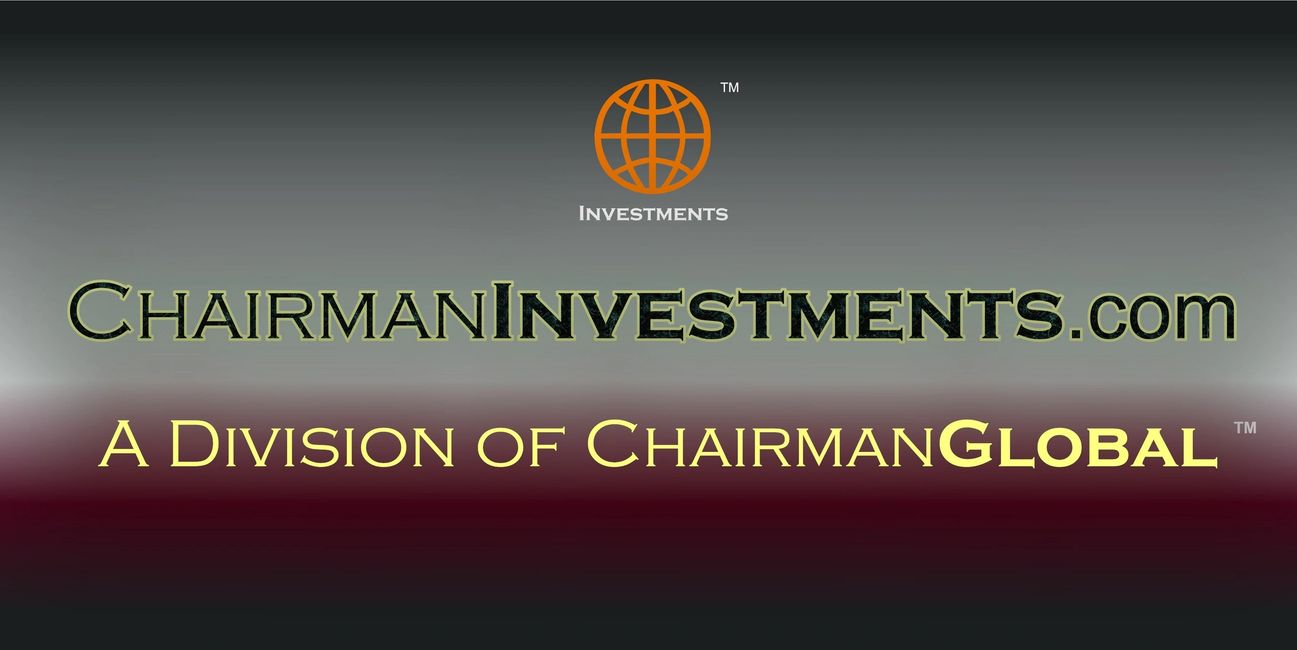 This is the artwork for ChairmanInvestments.com. Chairman Investments is a division of ChairmanGlobal.com.