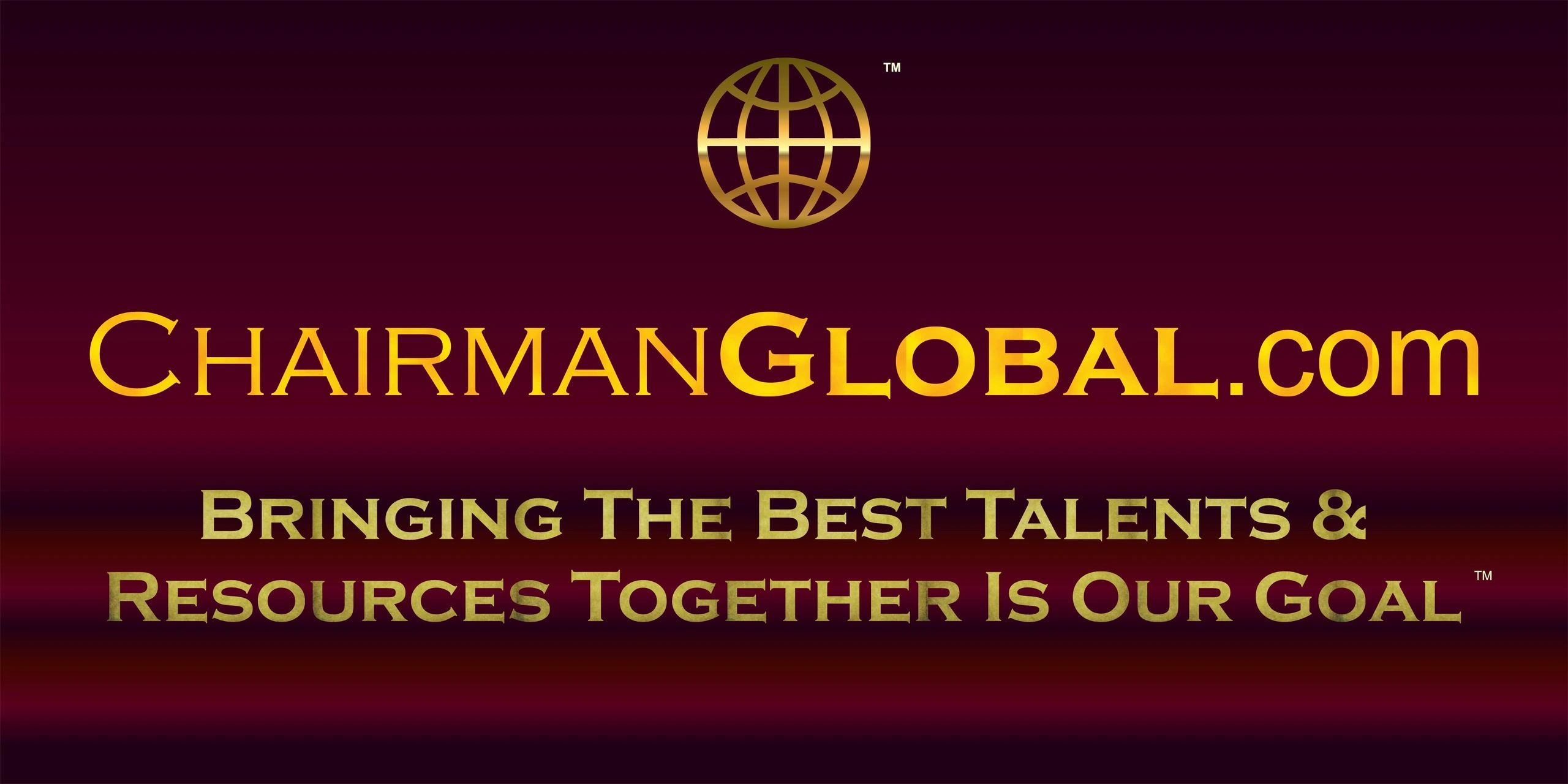 This is one of the official artwork designs for ChairmanGlobal.