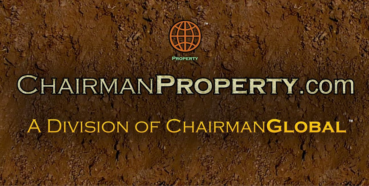 This is the artwork design for ChairmanProperty.com. Chairman Property is a division of ChairmanGlobal.com.