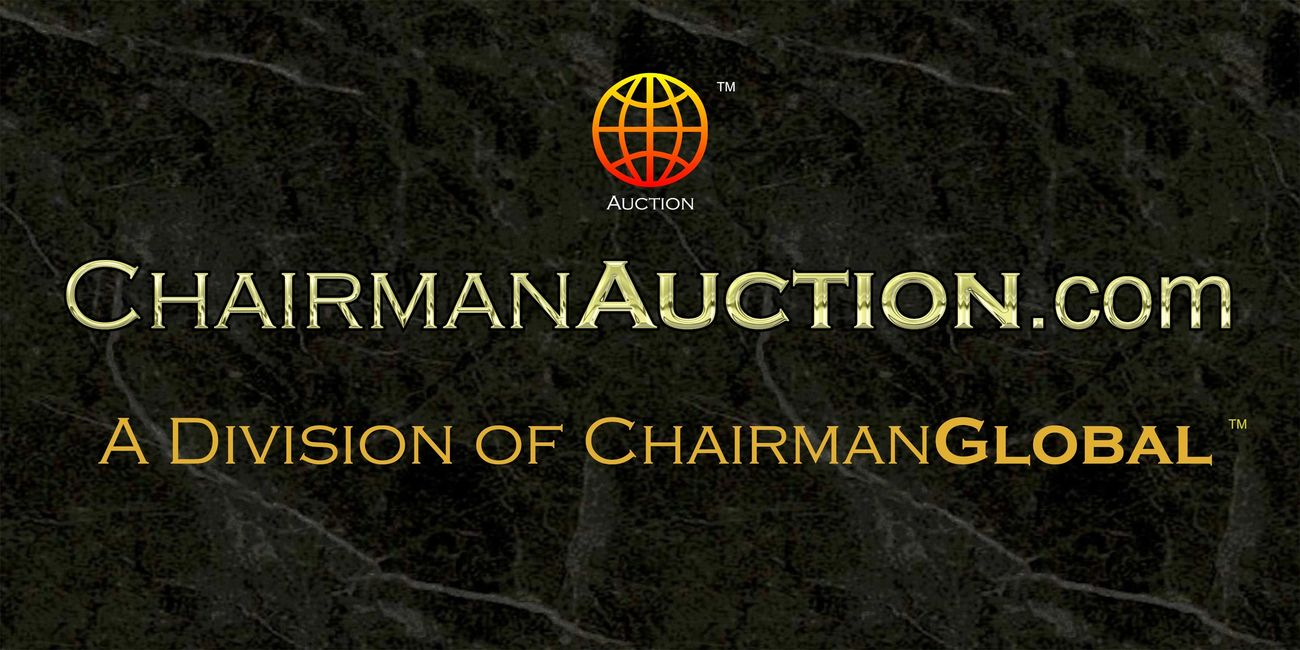 This is the artwork design for ChairmanAuction.com. Chairman Auction is a division of ChairmanGlobal.com.
