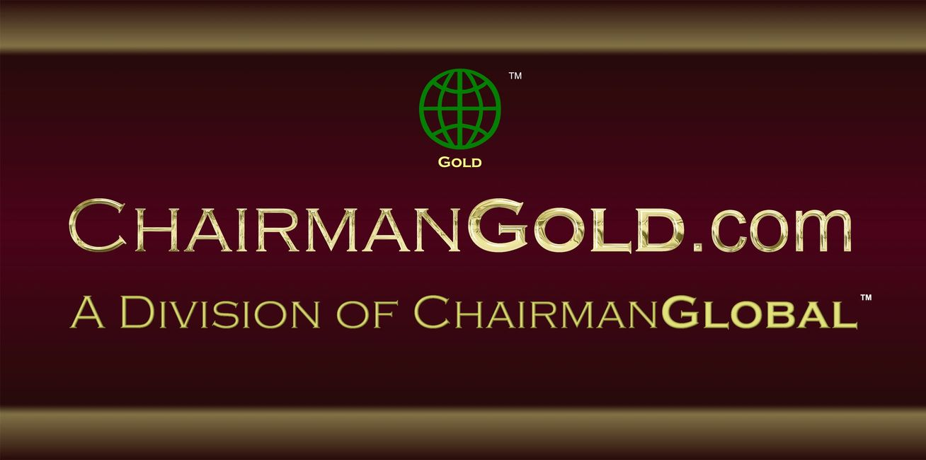This is the artwork design for ChairmanGold.com. Chairman Gold is a division of ChairmanGlobal.com.