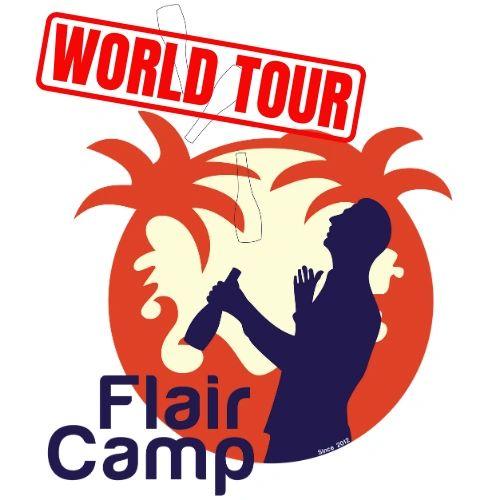 The Flair Camp World Tour Logo