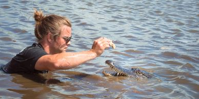 "The best ""New Orleans Swamp Tour "" were our guides have one of the most intimate relationship with an apex predator."