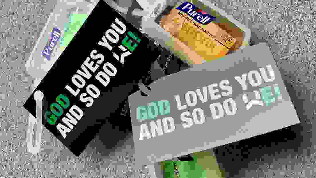God Loves You Card from Wellspring Church in Toms River, New Jersey