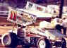 Steve Kinser, 1985, San Jose, The Kinser & Davis Families shared a long history, filled with the challenges,rewards & excitement of Sprint Car Racing!