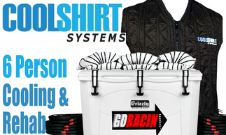 CoolShirt systems 6 person cooling station, for cooling or rapid rehab