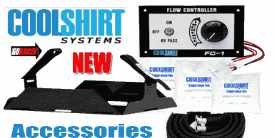 COOLSHIRT Accessories, temperature Control switch, Endurance ice, mounting tray & strap, hoses