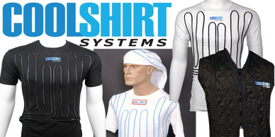 COOLSHIRT systems, cool suits, cool water shirts, vest, hooded,black, white,temperature controller.