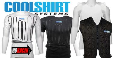 CoolShirt cool water garments, shirts, vests, rehab gown and vests. Maintain safe body core temps