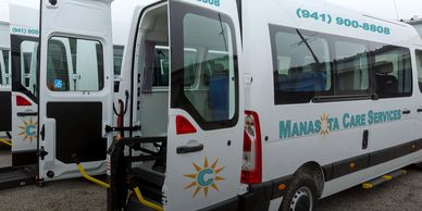 Our growing fleet of ADA compliant vehicles are proudly serving area seniors and facilities.