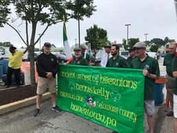 An Irish Catholic Fraternal organization performing many acts of charity and community events.