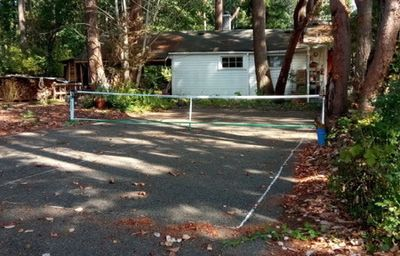 Picture of the court where pickleball was invented.