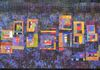 """Downtown Where All the Lights Are Bright""  by Mary Kay Price  29"" x 60"""