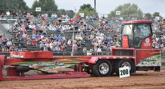Borrowed Time Sled Pulling Shelton Farm Motorsports