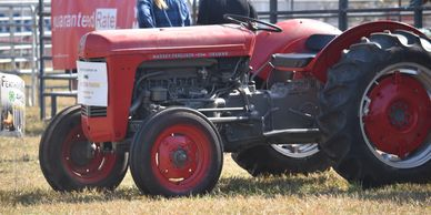 Antique tractor show at the Stafford County Fair