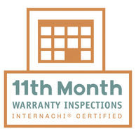 New Home 11 month warranty inspection to present to your builder.