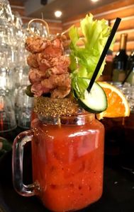 Chicken Fried Bacon Bloody! Best Bloody around all of Lake Tahoe! Come be the judge!