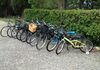 The fleet of bikes for hire