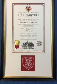 IAFF Retirement Certificates - ONTHEJOBFD COM