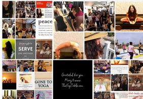 2018 -  a year filled with the blessings of practice, community and service.  Thank you yogis.
