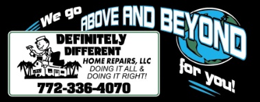 DEFINITELY DIFFERENT HOME REPAIRS LLC.