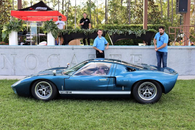 The 2020 Best In Show WInner. A 1966 Ford GT40