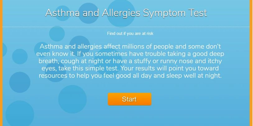 Asthma and allergies quiz from the American College of Allergy