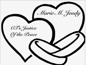 Welcome Friends   to CT'S Justice of  the Peace Marie M. Jeudy