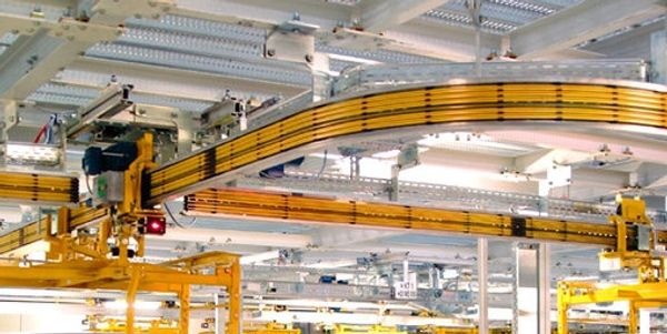 over head electrified monorail conveyor system
